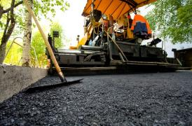 Paving and concreting works